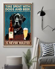 Labrador Beer Never Wasted 11x17 Poster lifestyle-poster-1