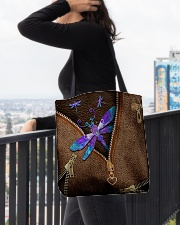 Dragonfly All-over Tote aos-all-over-tote-lifestyle-front-05