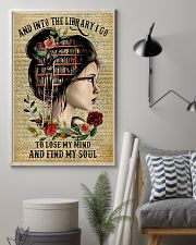 and into the library i go 11x17 Poster lifestyle-poster-1