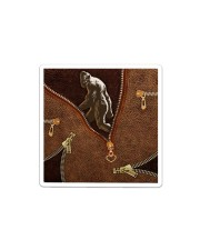 Bigfoot All-over Tote Sticker tile