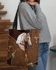 Horse Leather All-over Tote aos-all-over-tote-lifestyle-front-09