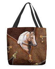 Horse Leather All-over Tote back