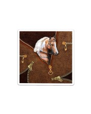 Horse Leather Sticker tile