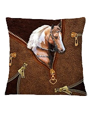 Horse Leather Square Pillowcase tile