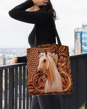 Custom Horse V12 All-over Tote aos-all-over-tote-lifestyle-front-05