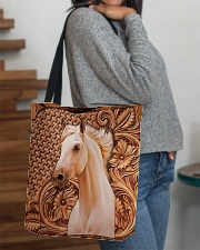 Custom Horse V12 All-over Tote aos-all-over-tote-lifestyle-front-09