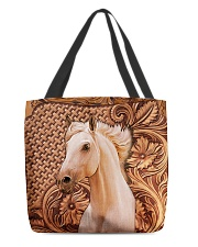 Custom Horse V12 All-over Tote front