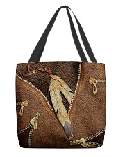 Native American Feather All-over Tote back