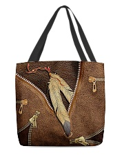 Native American Feather All-over Tote front