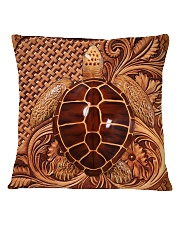 Turtle Feather Square Pillowcase tile