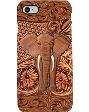 Elephant Feather Phone Case i-phone-8-case