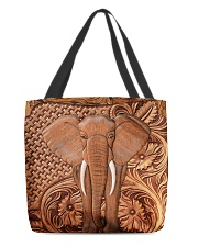 Elephant Feather All-Over Tote tile