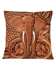 Elephant Feather Square Pillowcase tile