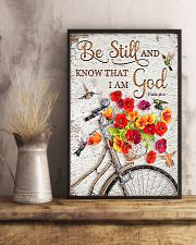 Be Still And Know That I Am God  11x17 Poster lifestyle-poster-3