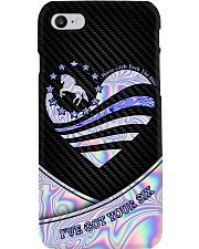 Horse Back The Blue Phone Case i-phone-8-case