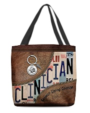 Clinician All-over Tote back