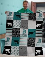 """Into The Garden  Sherpa Fleece Blanket - 50"""" x 60"""" aos-sherpa-fleece-blanket-50x60-lifestyle-front-05"""