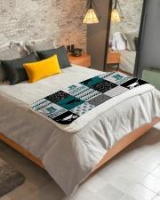 """Into The Garden  Sherpa Fleece Blanket - 50"""" x 60"""" aos-sherpa-fleece-blanket-lifestyle-front-01"""