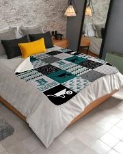 """Into The Garden  Sherpa Fleece Blanket - 50"""" x 60"""" aos-sherpa-fleece-blanket-lifestyle-front-02"""