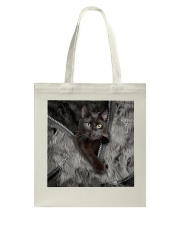 Black Cat My Lovely Bag Tote Bag tile