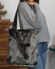 Black Cat My Lovely Bag All-over Tote aos-all-over-tote-lifestyle-front-09