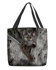 Black Cat My Lovely Bag All-over Tote back