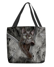 Black Cat My Lovely Bag All-over Tote front