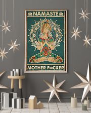Namaste Mother Facker- Yoga Vertical Poster  11x17 Poster lifestyle-holiday-poster-1