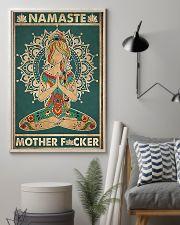 Namaste Mother Facker- Yoga Vertical Poster  11x17 Poster lifestyle-poster-1