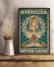 Namaste Mother Facker- Yoga Vertical Poster  11x17 Poster lifestyle-poster-3