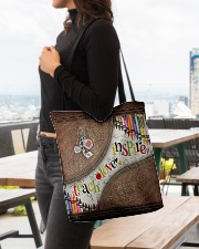 Teacher All-over Tote aos-all-over-tote-lifestyle-front-04