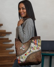 Teacher All-over Tote aos-all-over-tote-lifestyle-front-08