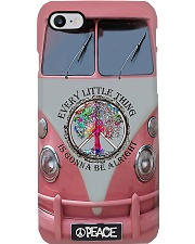 Hippie Every Little Thing Gonna Be All Right Phone Case i-phone-8-case