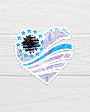 Back The Blue TC Sticker - Single (Vertical) aos-sticker-single-vertical-lifestyle-front-01