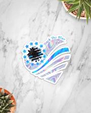 Back The Blue TC Sticker - Single (Vertical) aos-sticker-single-vertical-lifestyle-front-06