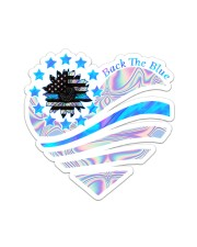 Back The Blue TC Sticker - Single (Vertical) front