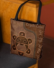 Taino Leather Pattern Print All-over Tote aos-all-over-tote-lifestyle-front-02
