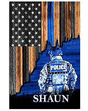 Back The Blue Flag 11x17 Poster front