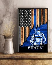 Back The Blue Flag 11x17 Poster lifestyle-poster-3