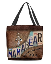 MamaBear All-over Tote back