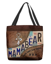 MamaBear All-over Tote front