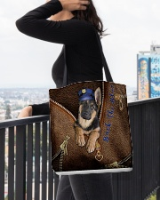 Back The Blue All-over Tote aos-all-over-tote-lifestyle-front-05