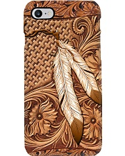 Native American India Feather 2 Phone Case tile
