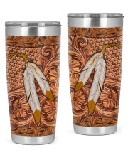 Native American India Feather 2 20oz Tumbler front