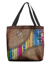 Love Quilting All-over Tote front