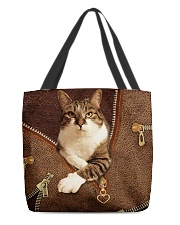 Jane's cat  All-over Tote front