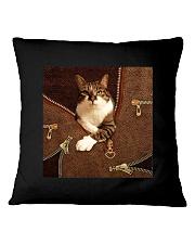 Jane's cat  Square Pillowcase tile