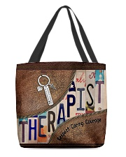 Therapist All-over Tote back