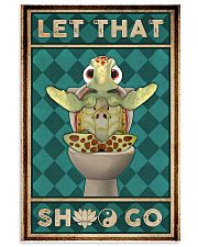 Turtle Let That 11x17 Poster front