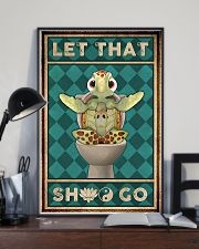 Turtle Let That 11x17 Poster lifestyle-poster-2